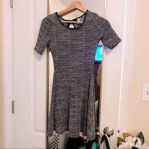 H&M TWeed Fit & Flare Dress